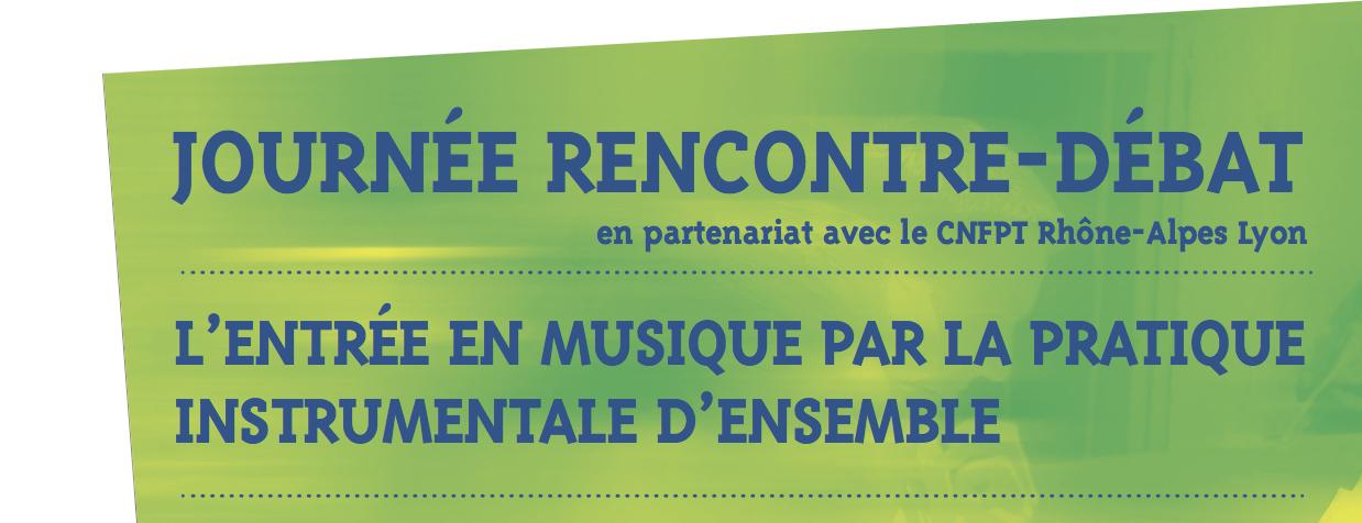 L'entrée en musique par la pratique instrumentales d'ensemble